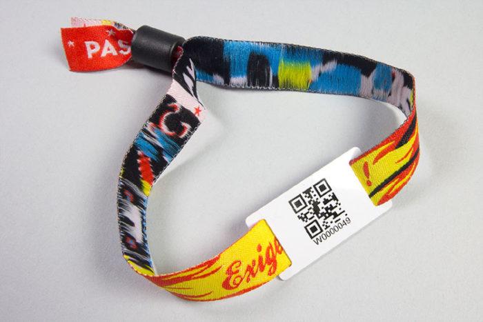 Passant RFID pour bracelet de contrôle d'accès