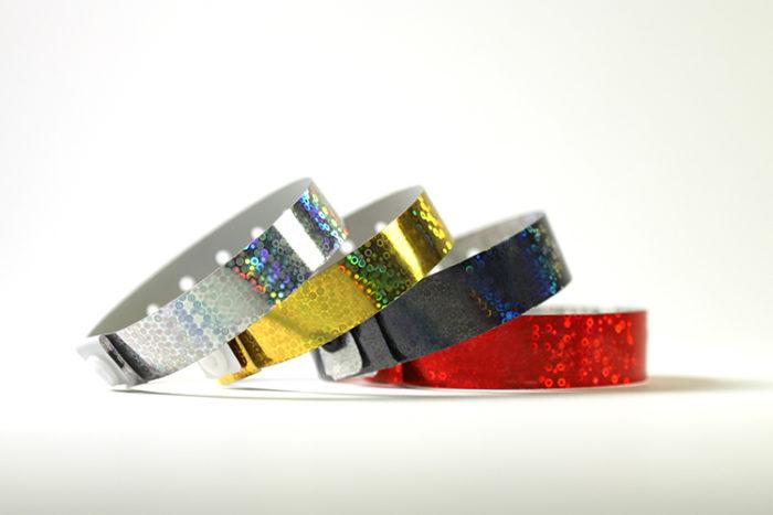 bracelets-holographiques-vierges-argent-or-noir-rouge