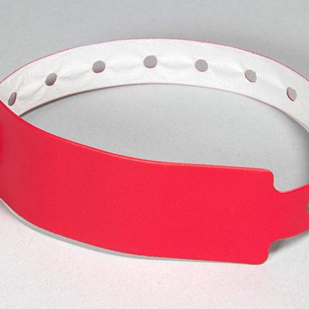 Bracelet vinyle de sécurité - Oscar Productions Nantes billetterie et gestion d'accès sécurisée