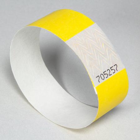 Bracelet Tyvek vierge pour festival ou évènementiel - Oscar Productions Nantes billetterie et gestion d'accès sécurisée