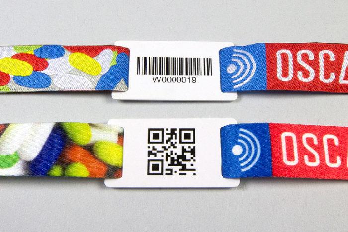 Passant pour bracelets sécurités en PVC, RFID ou QR-Code