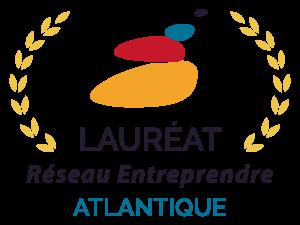Logo Lauréat Réseau Entreprendre Atlantique