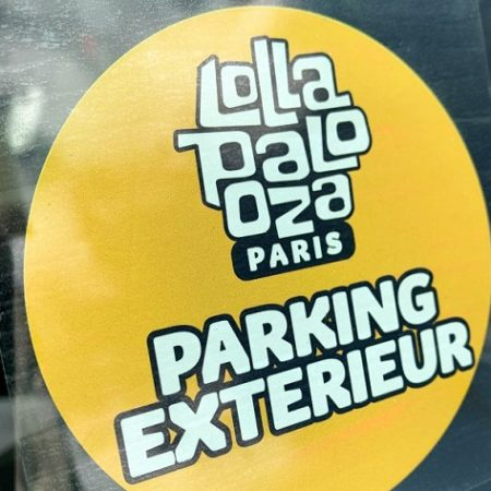Pass parking OSCAR pour LOLLAPALOOZA 2019