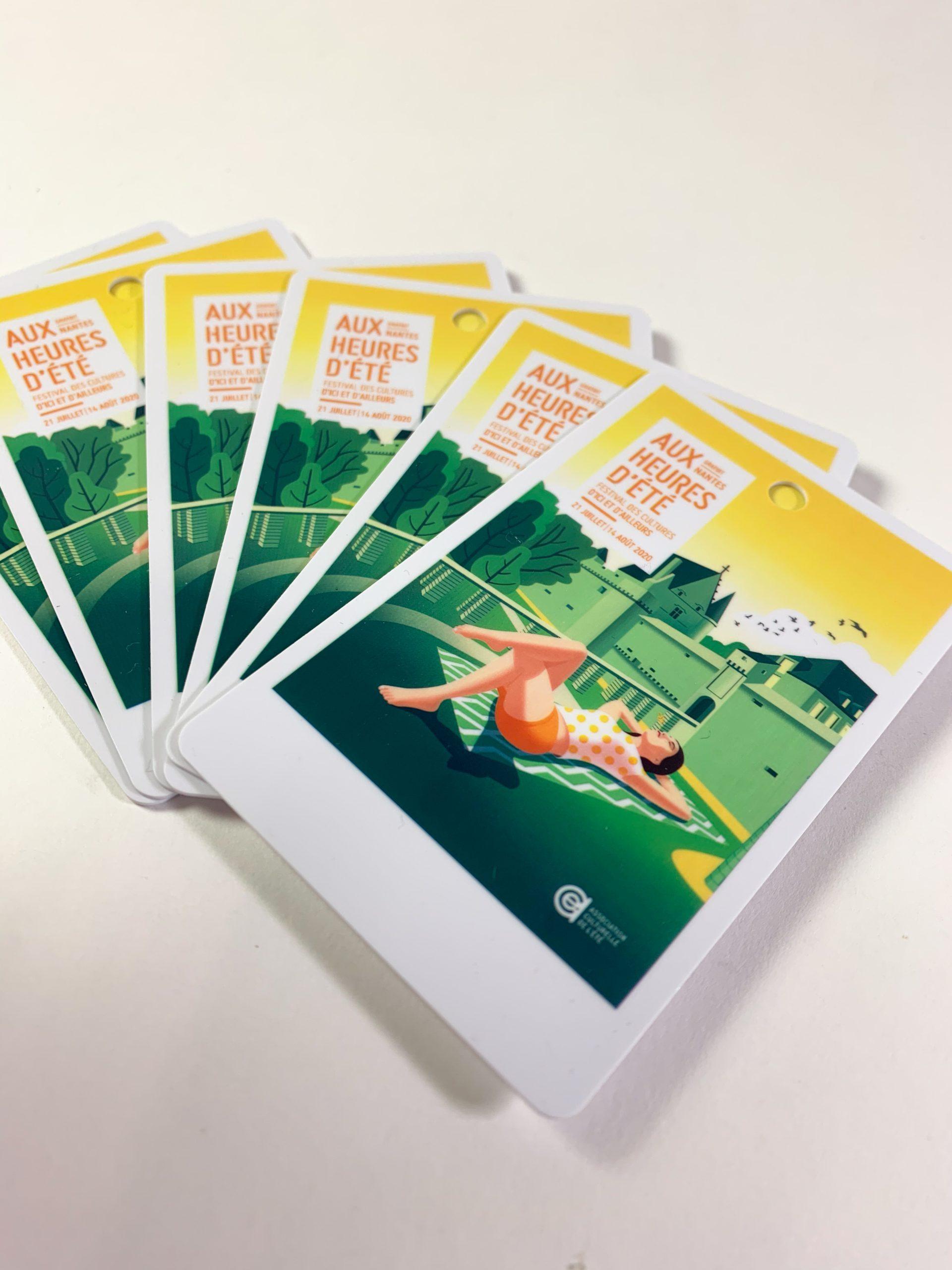 Cartes PVC OSCAR Aux Heures d'Eté 2020