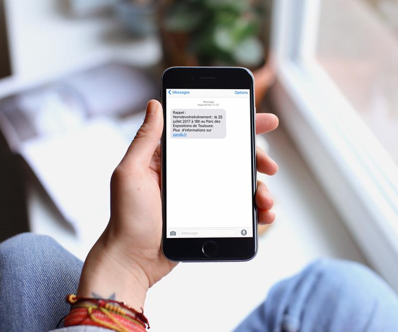 campagne sms pour billetterie en ligne