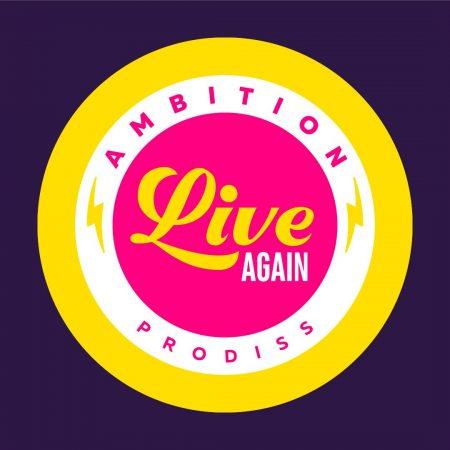 Logo Ambition Live Again Prodiss